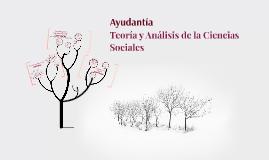 Primera Ayudantía - Teoría y Análisis de la Ciencias Sociales
