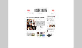 GROUP 3 NEWS