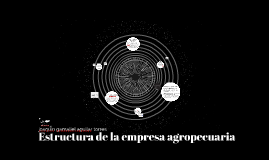 eatructura de la empresa agropecuaria