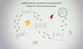 Saber educar, un arte y una vocación