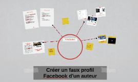 Créer un faux profil Facebook d'un auteur