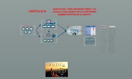 ANALISIS DE RELACION ENTRE EL CLIMA ORGANIZACIONAL Y LA SATISFACCION LABORAL