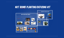 NXT BOmb planting/defusing kit