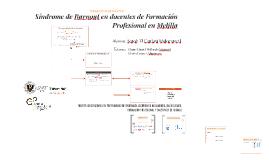 Síndrome de Burnout en docentes de Formación Profesional en