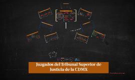 Copia de Juzgados del Tribunal Superior de Justicia de la CDMX