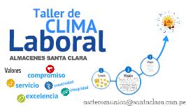 Taller de Clima Laboral ASC
