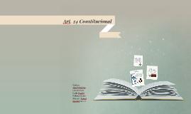 Art. 24 Constitucional