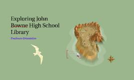 Exploring John Bowne High School Library