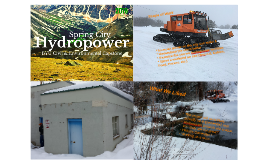 Spring City Hydropower Capstone