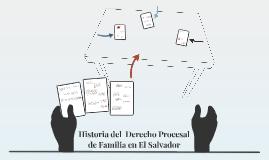 Copy of Historia del  Derecho Procesal de Familia en El Salvador