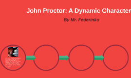 In Act One, John Proctor seems content, and does not know wh