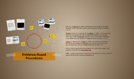 Evidence-Based Procedures