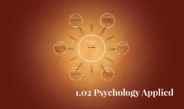 1.02 Psychology Applied