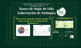 Banco de Hojas de Vida Gobernación de Antioquia