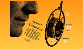 Copy of Speech Disorder