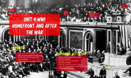 Unit 4:WWI