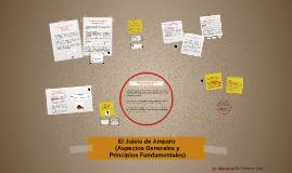 Copy of El Juicio de Amparo (Aspectos Generales y Principios Fundamentales)
