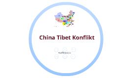 Tibet China Konflikt