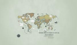 Copy of DERECHO INTERNACIONAL DE FAMILIA