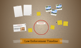 Law Enforcement Timeline