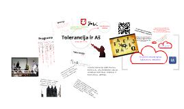 Konferencija: Tolerancija ir Aš