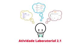 Atividade Laboratorial 2.1
