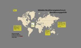 Globales Bevölkerungswachstum