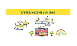 Animales vivíparos y ovíparos. Carolina Ramírez G.