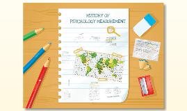 Sejarah Pengukuran Psikologi