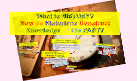 Chapter 1 (Sections 1-3) : What is History & Inquiry Process