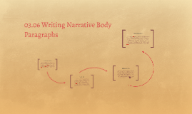 Copy of 03.06 Writing Narrative Body Paragraphs