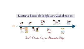Doctrina Social de la Iglesia y Globalización