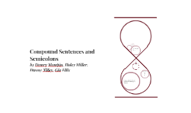 Compound Sentences and Semicolons