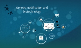 Genetic modification and biotechnology
