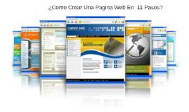 ¿Como Crear Una Pagina Web En  11 Pasos?