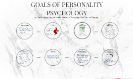 GOALS OF PERSONALITY