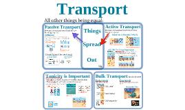 Cells: Transport