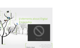the 9 elements about Digital Citizenship