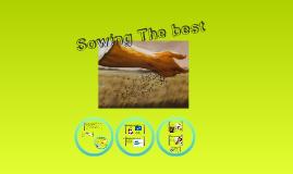 Copy of EGR - 9 - Sowing the Best/Finances Rev 5/26/11