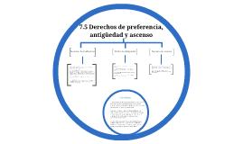 Copy of 7.5 Derechos de preferencia, antigüedad y ascenso