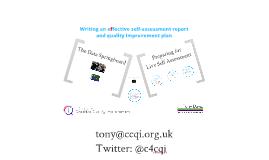 Preparation for Live Self Assessment - final
