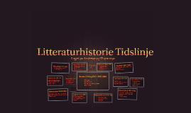 Litteraturhistorie Tidslinje