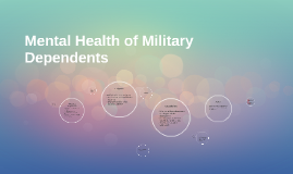Mental Health of Military Dependents