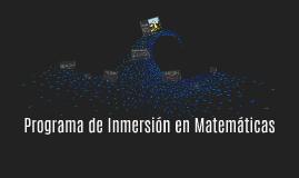 Inmersión