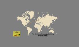 Plan de promoción de exportación de