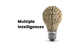 Copy of Multiple Intelligences