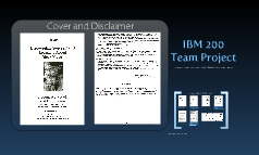 IBM 200 Project - Book Revision