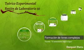Teórico Experimental Complejos