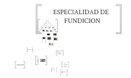 TALLER DE FUNDICION