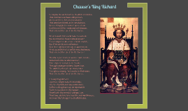Chaucer's King Richard
